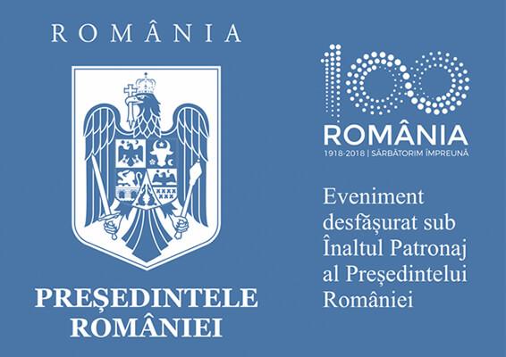 Logo – Eveniment desfășurat sub Înaltul Patronaj al Președintelui României